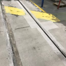 rails before and after repair